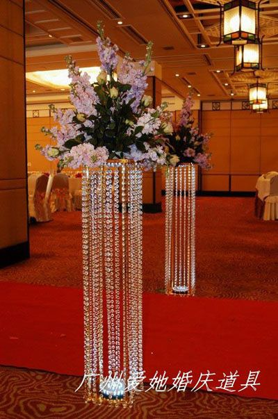 Aliexpress buy 10pcslots acrylic crystal wedding lead road aliexpress buy 10pcslots acrylic crystal wedding lead road 120cm tall22cm diameter chandelier centerpiece from reliable wedding crystal centerpiece junglespirit Gallery