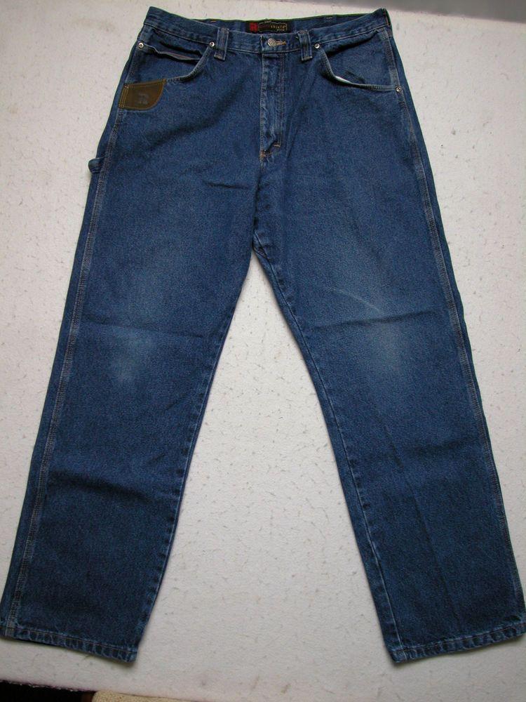 Riggs by Wrangler 36x32 Mens Carpenter Workwear Dura
