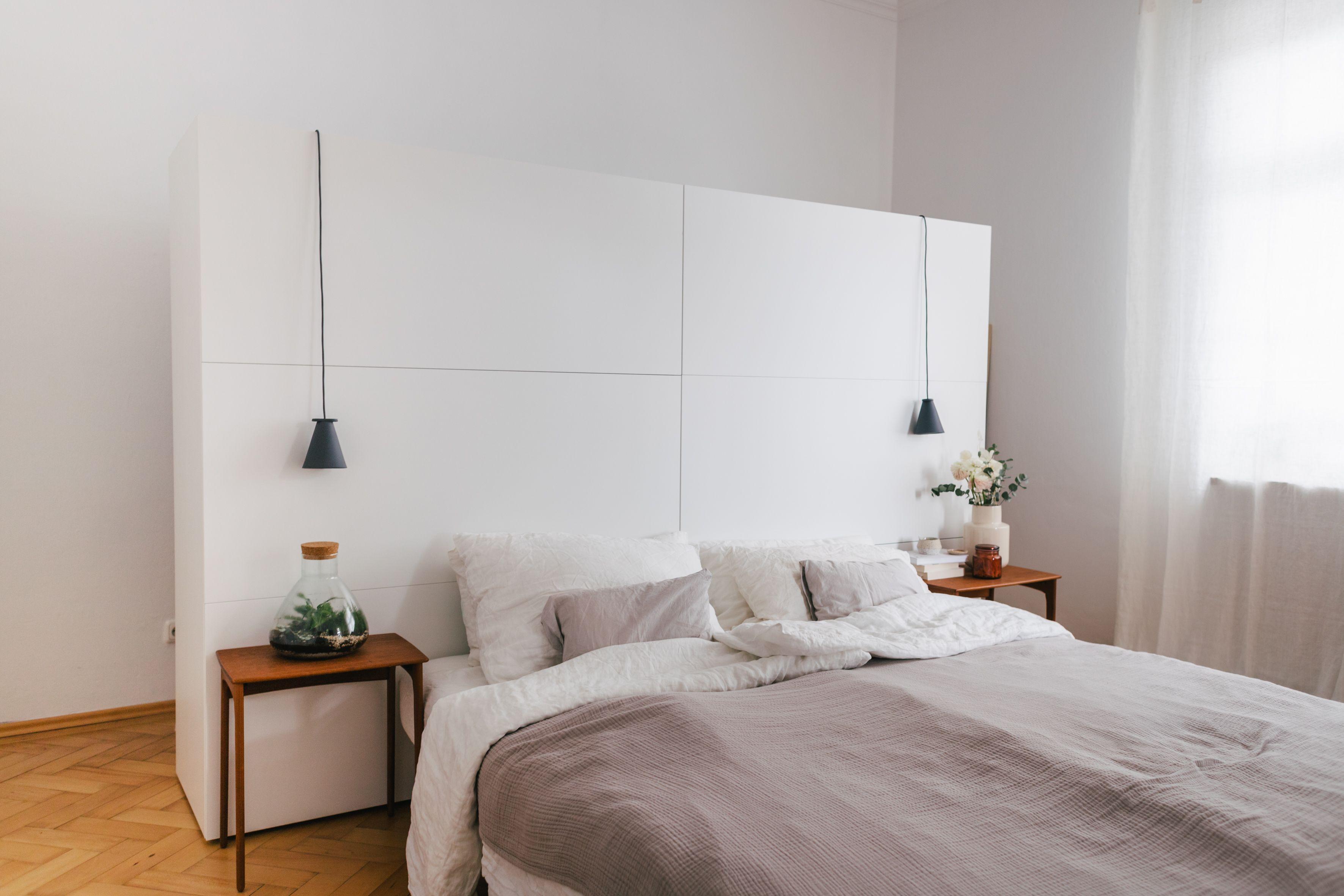 Unser Begehbarer Kleiderschrank Hinter Dem Bett In 2020