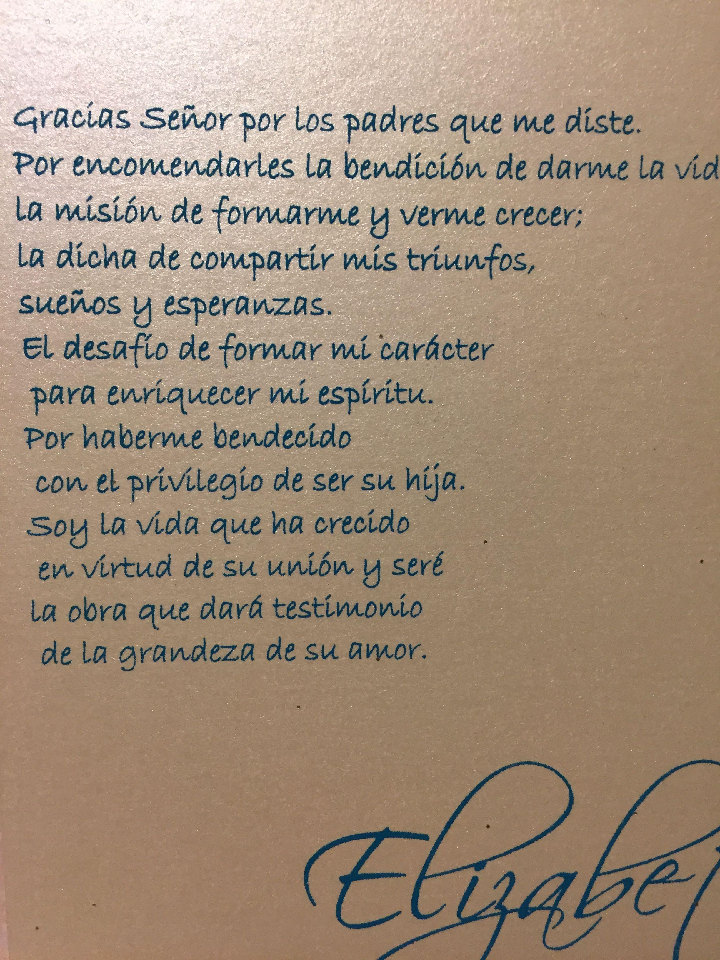 Frases De Tarjetas Frases De Xv Años Oraciones De Xv Años