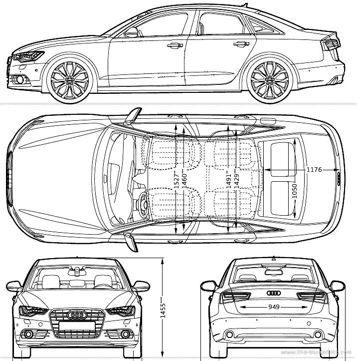 Audi a6 2013 car design pinterest - Modele dessin voiture ...