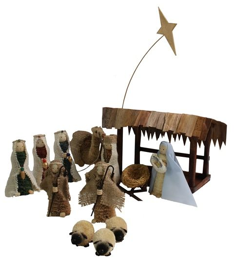 Traditional Nativity Scene - Bristlebrush Designs