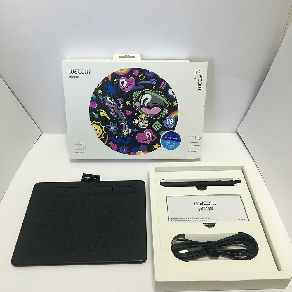 Wacom CTL-4100/K0 Black Intuos Small Basic Pen Tablet FREE