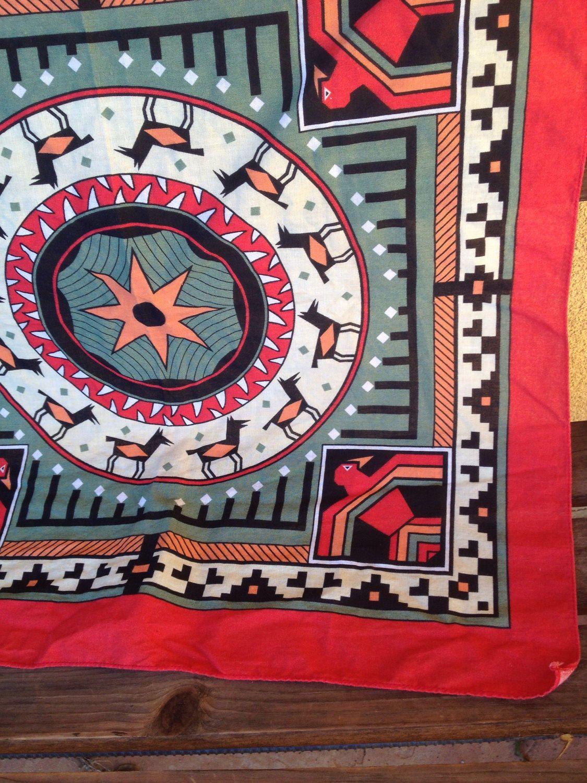 Thunderbird Bandana Southwestern Bandana Tribal Bandana Native  # Muebles Bandama