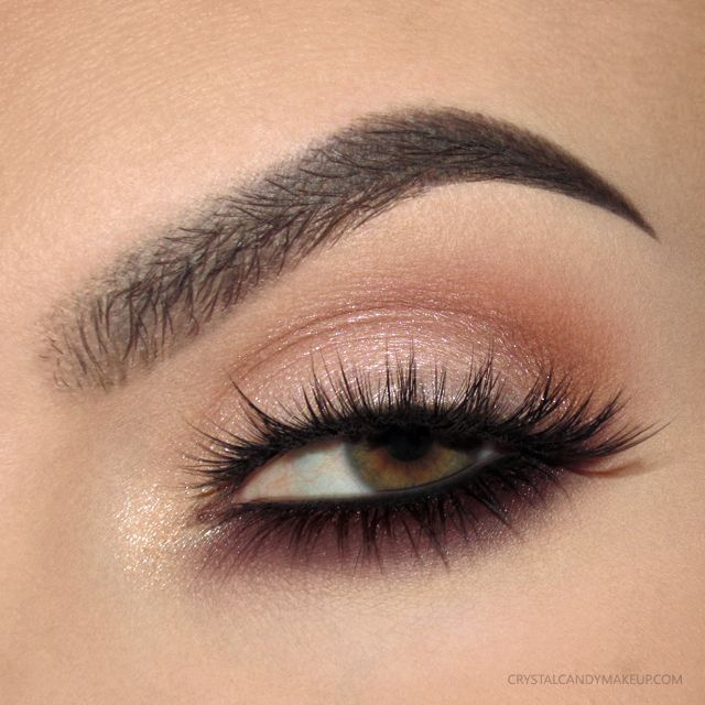 Smoky Under Eye Makeup For Green And Hazel Eyes Look With Urban Decay Naked Ultimate