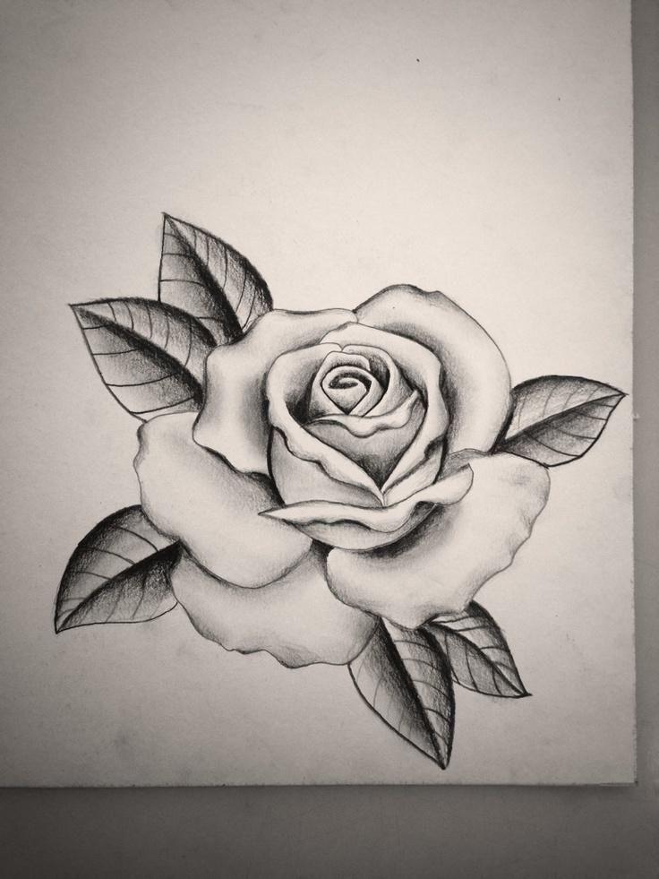 Image Result For Tattoo Rose Template Desenho De Rosas Desenhos Para Tatuagem Desenho Tatuagem