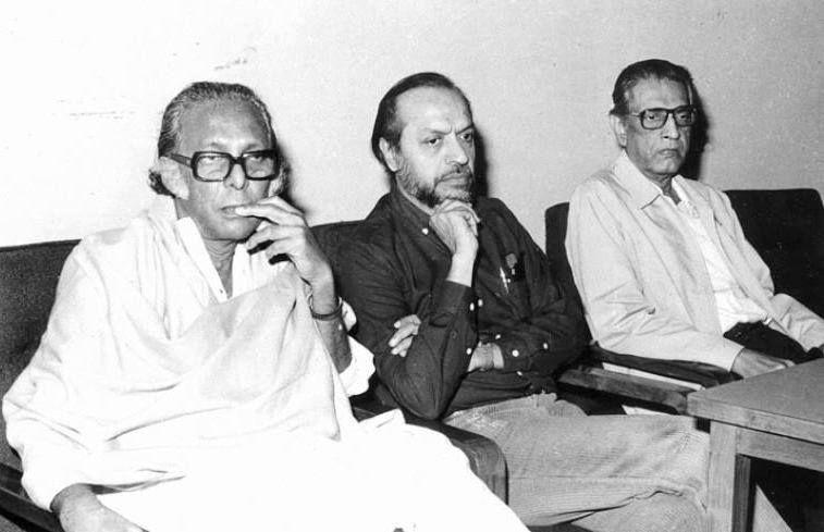 Mrinal Sen, Shyam Benegal and Satyajit Ray    Rare Pics & Video