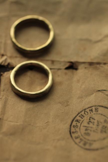 Pair Brass Round Ring 3mm - IRRE