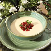 White Bean Soup with Pomegranate Arils