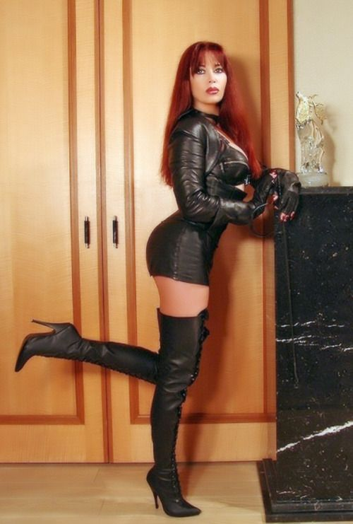 0609304c7c3a Sabrina Winter - Strawberry Blonde - Leather Girl - Long Hair ...