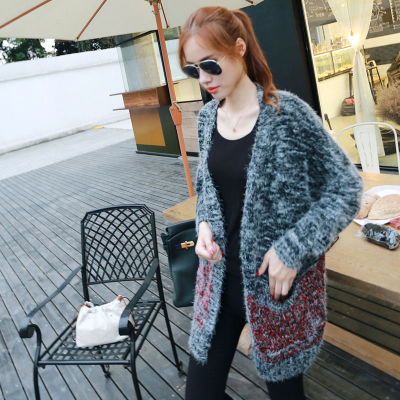 Autumn Winter Sweater Cardigan Casual Knitted Mohair Cardigans ...