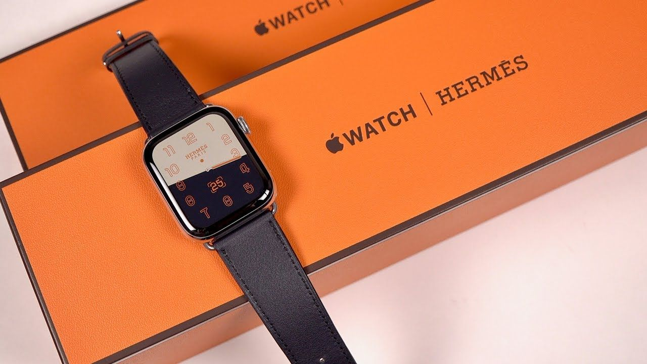 Unboxing A 1 400 Apple Watch Hermes Experience Series 4 Apple Watch Hermes Hermes Watch