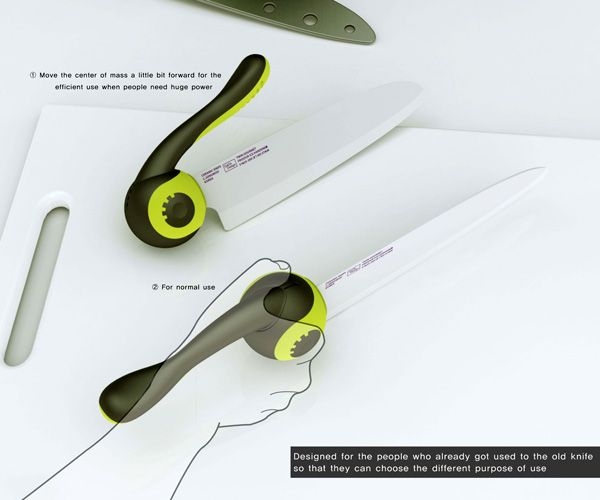 Swing_Knife2  All About Gadgets  Pinterest  Swings Kitchen Extraordinary Kitchen Knife Design Review