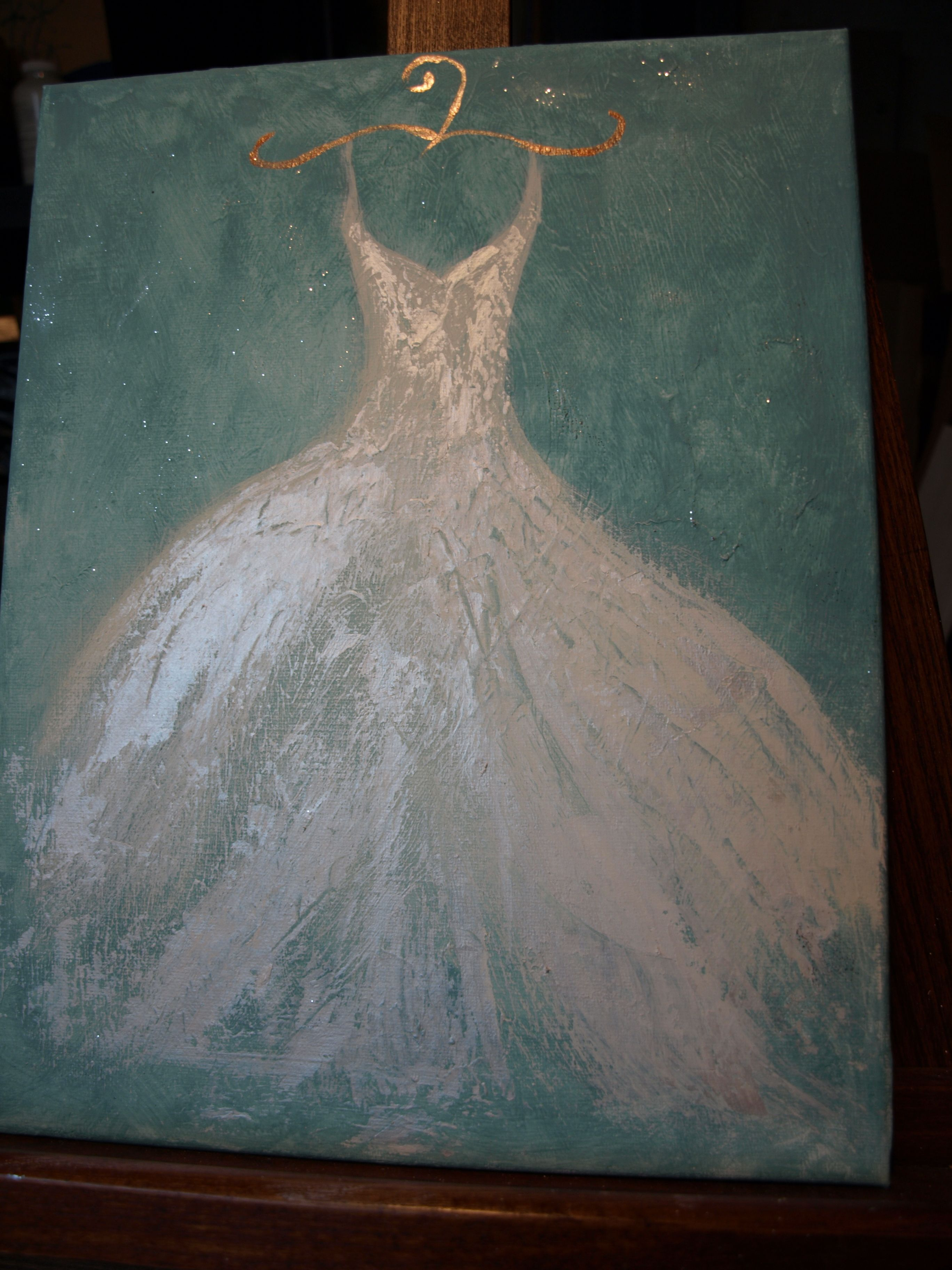 Canvas Painting Done With Chalk Paint Decorative Paint By Annie