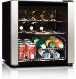 Midea Whs 64w 16 Bottle Wine Cooler Wine Refrigerator Best Wine Coolers Wine Cooler
