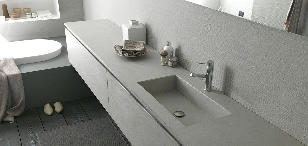 meuble salle de bain vasque intégré