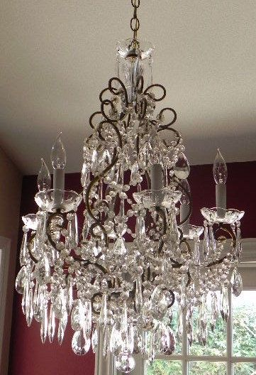Pin By Dawn Bartlett On Shabby Chic French Chandelier Antique Chandelier Beautiful Chandelier