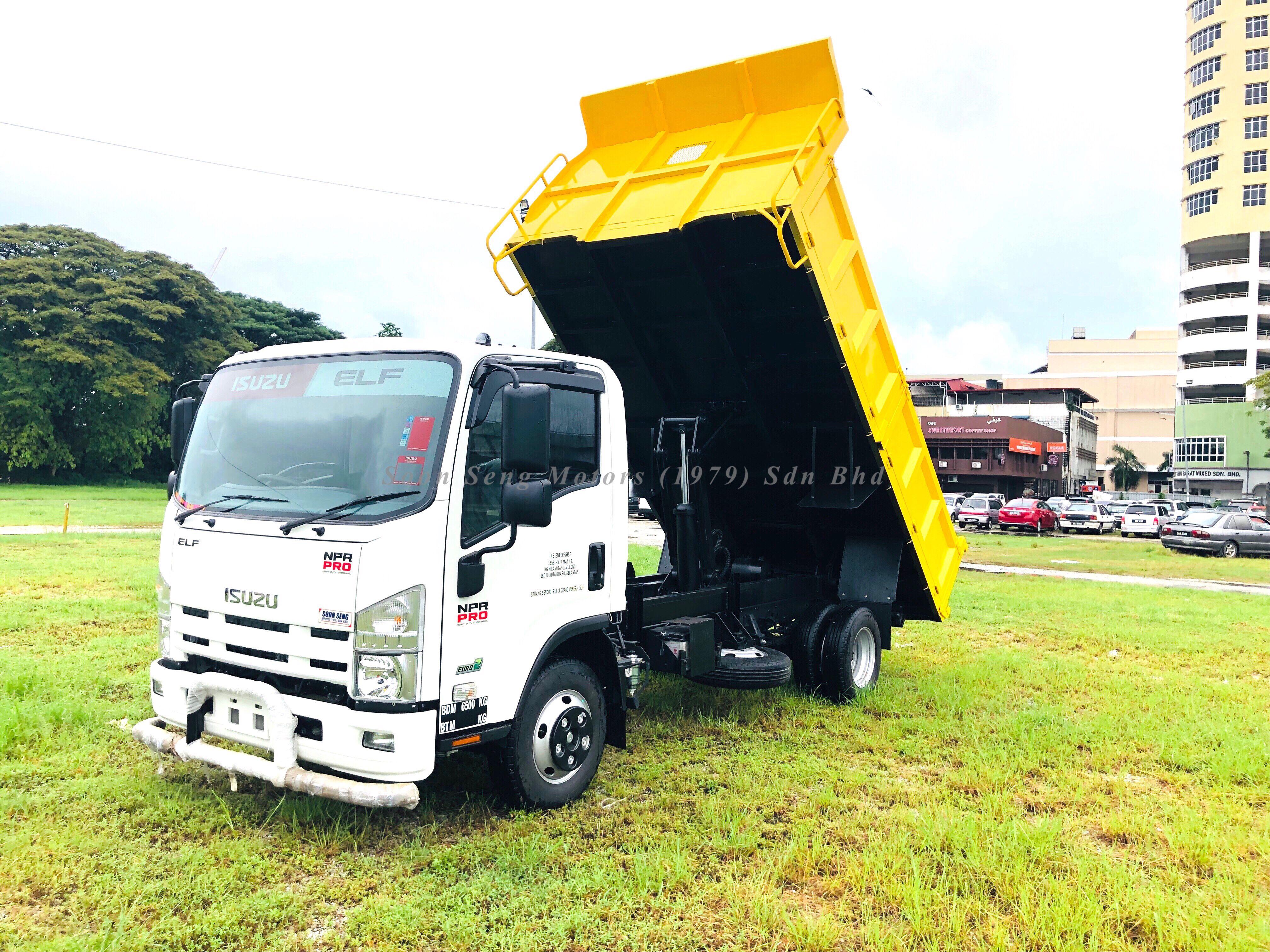 Isuzu Npr Pro Dumper Truck Dumper Truck Trucks Trucks For Sale