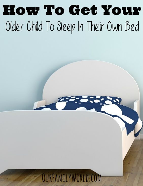 How Can I Get My 3 Year Old To Sleep In His Own Bed