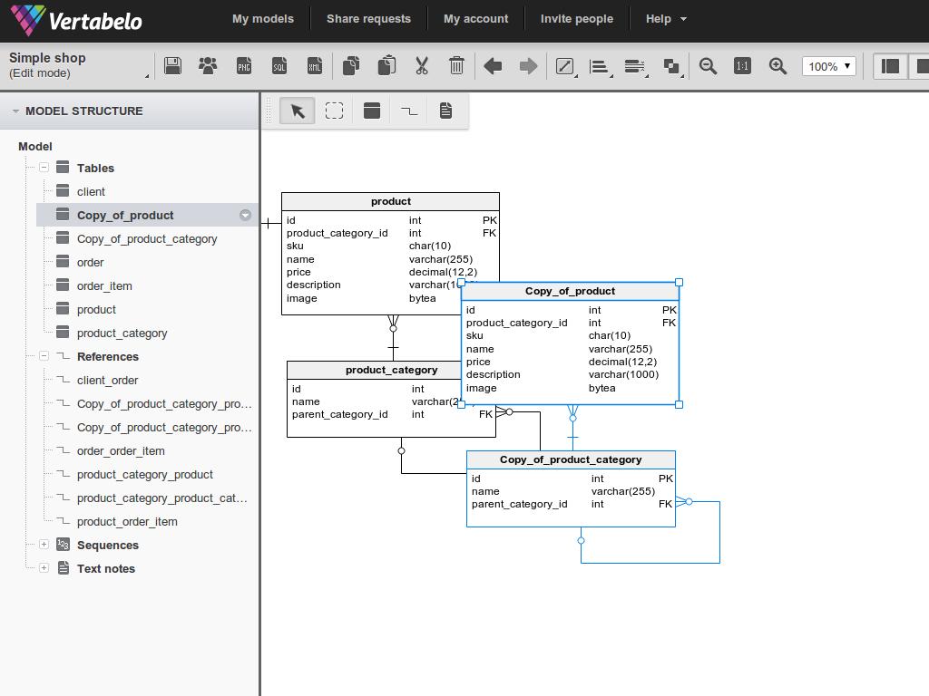 36 Innovative Database Diagram Online Design Ideas , https ...