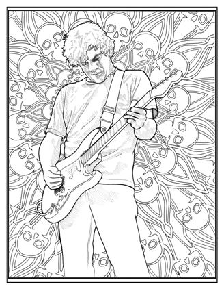 Thea Wolfe - The WEEN Coloring Book | ~❈~~❈~WeeN ...
