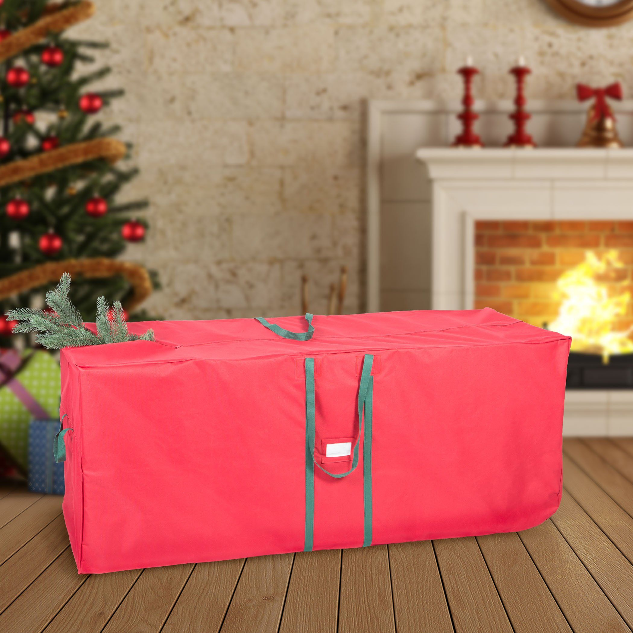 Hold N Storage 58 Christmas Tree Bag Wheels In Red Want Additional Info Click On The Im Christmas Tree Bag Christmas Tree Storage Bag Christmas Tree Storage
