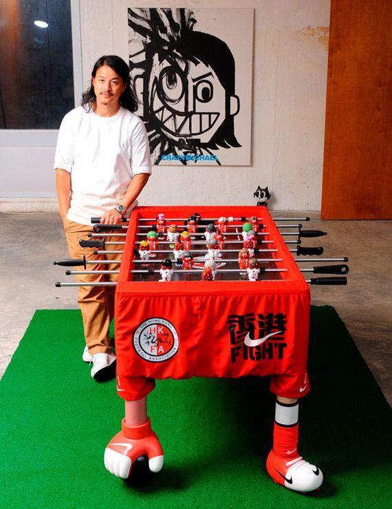 "NIKE X MICHAEL LAU – ""HONG KONG FIGHT"" FOOSBALL TABLE"