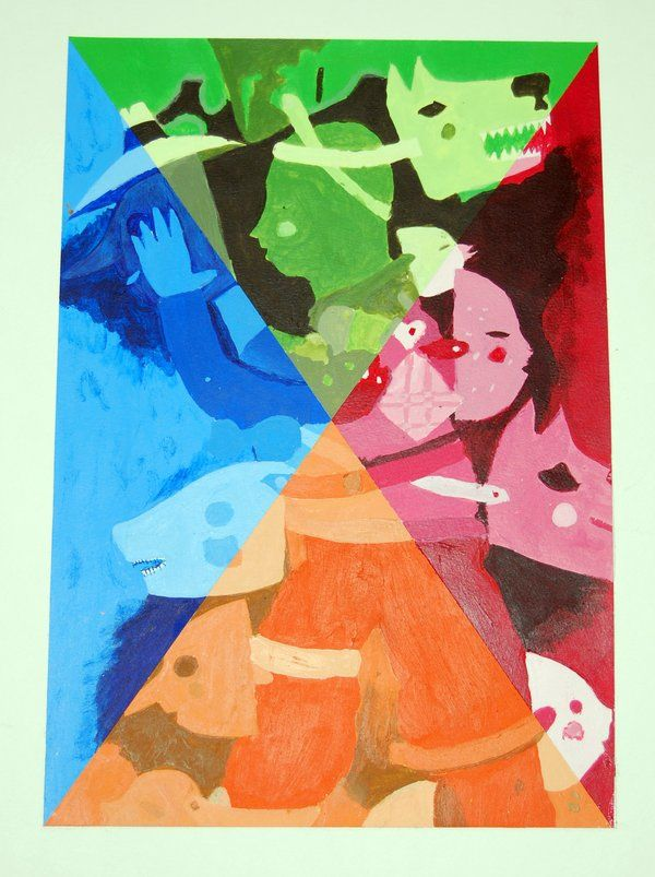 color theory project - Google Search   Fundamentals of Art ...