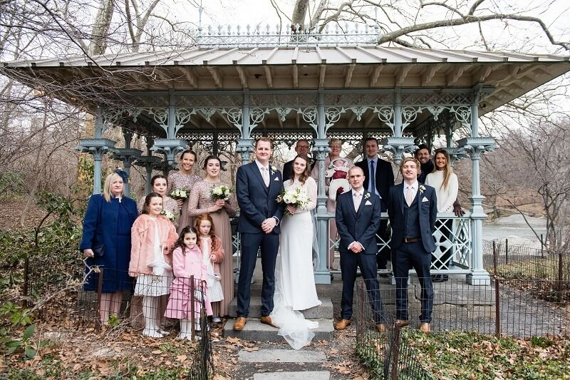 Sophie And Ben S Wedding In The Ladies Pavilion In January