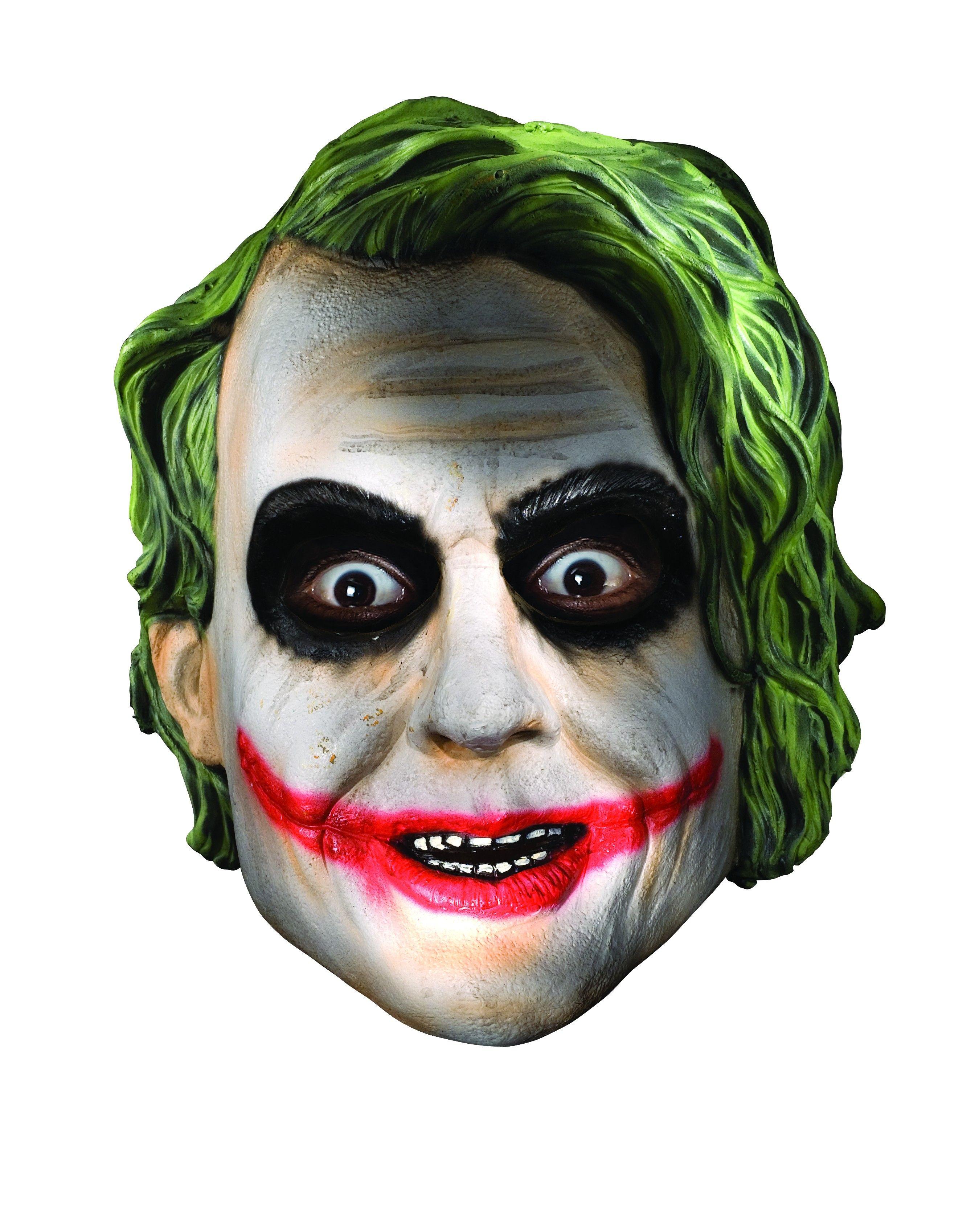 The Joker Mask Official Dark Knight Joker child's mask. This 1/2 ...