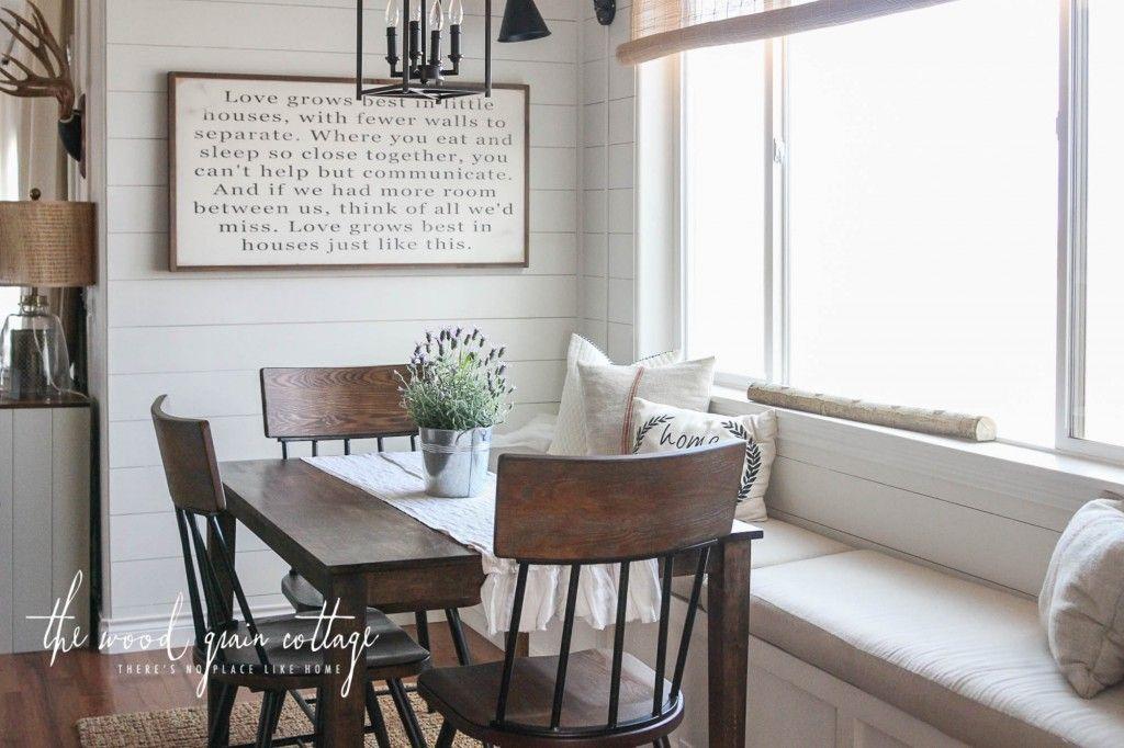 16++ Farmhouse breakfast nook set inspiration