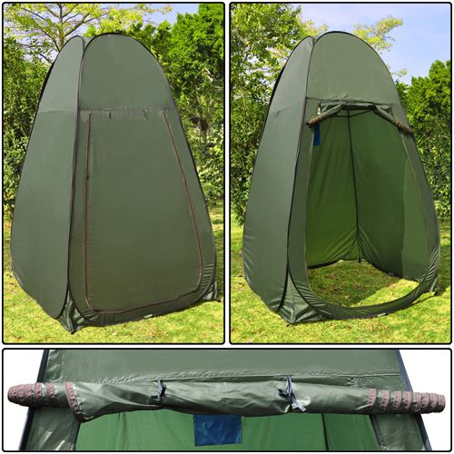Pop Up Tent Shower & Portable Changing Tent Camping Shower Toilet Pop Up Room Privacy ...