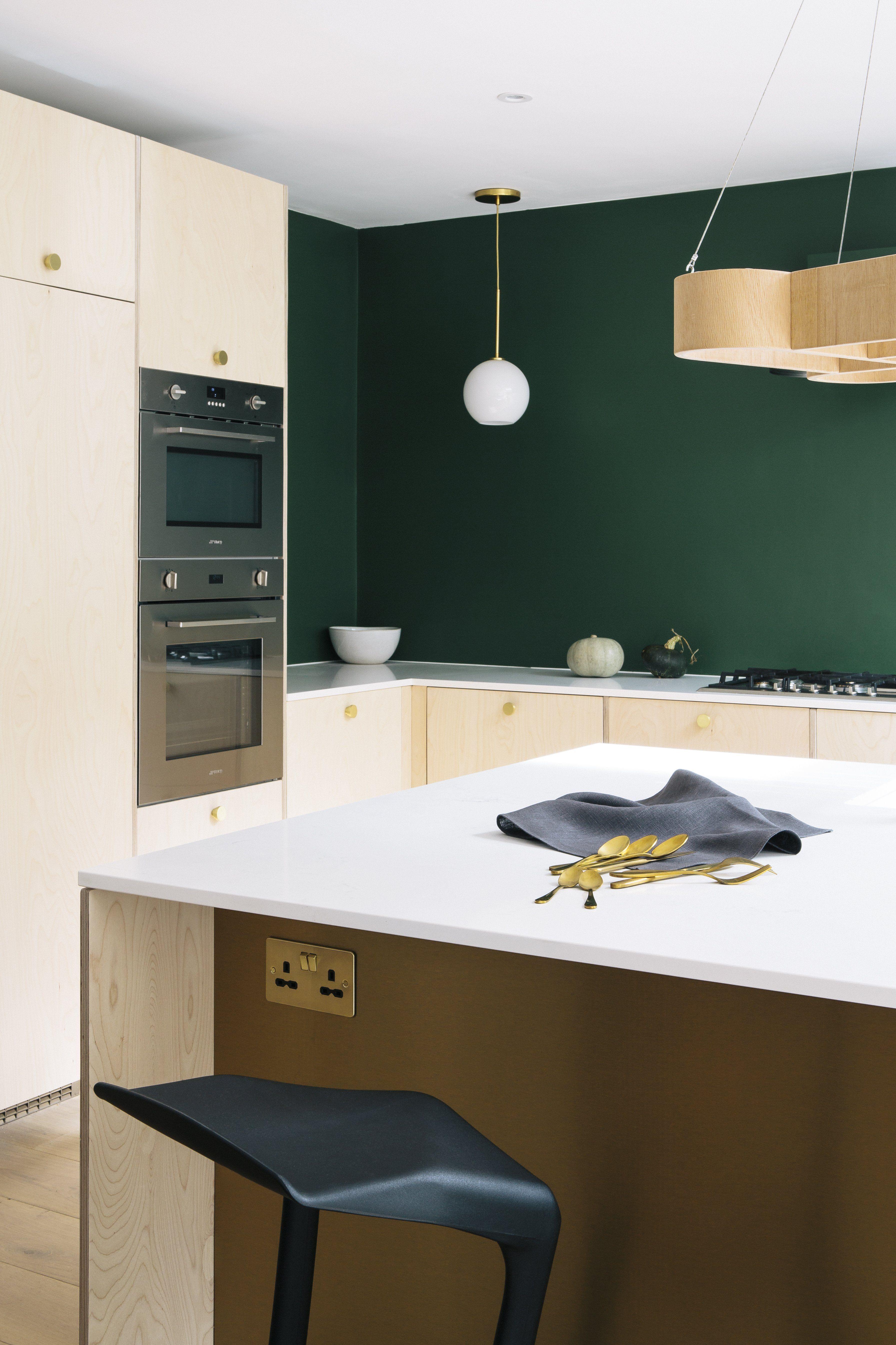 Hammersmith Kitchen CustomFronts Plywood kitchen, Ikea