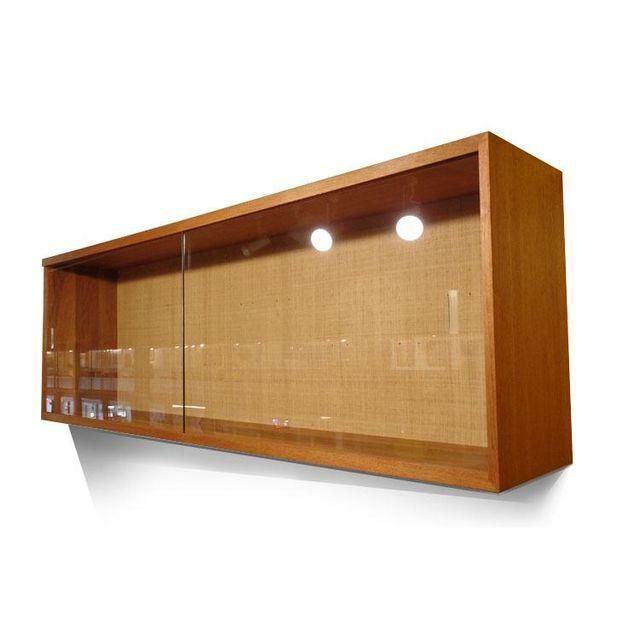 Image Of Mid Century Modern Wall Mount China Cabinet