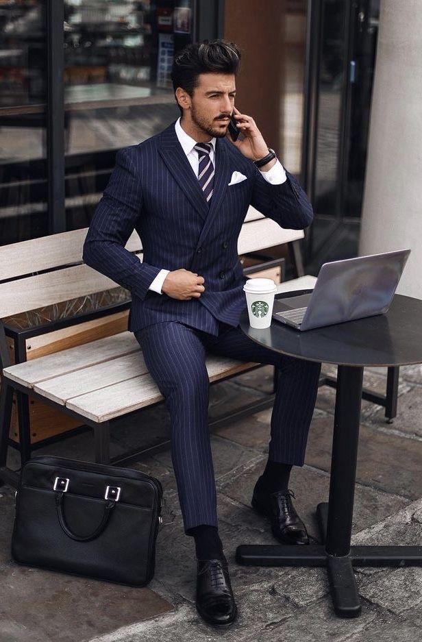 Duola Mens Basic Waistcoat Gentleman Suit Tie Black