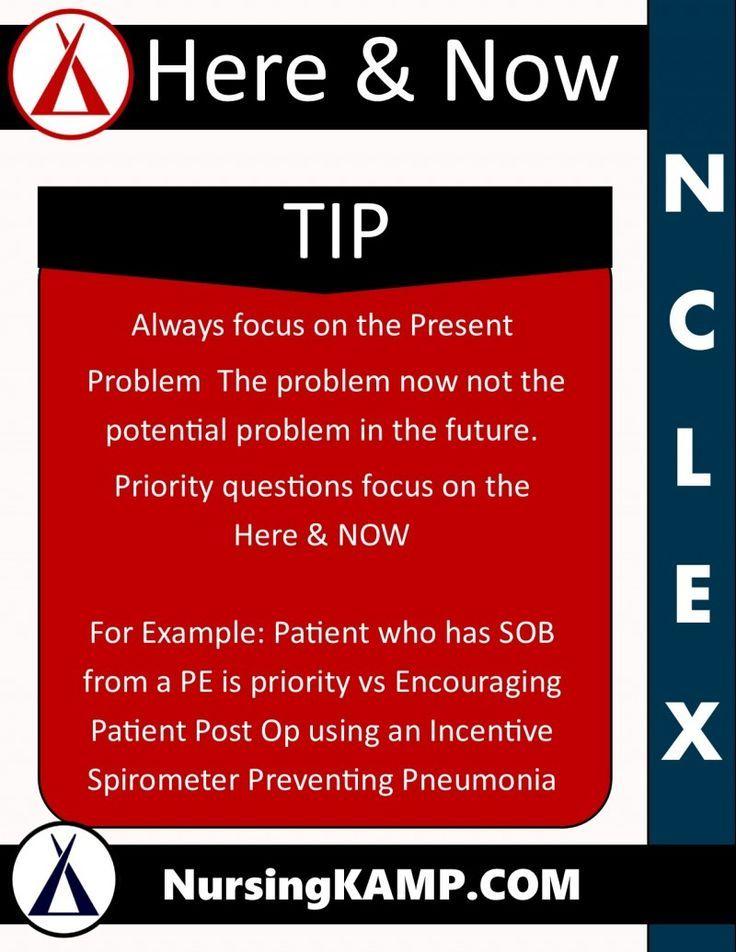 NCLEX Tips | Nursing School | Nclex, Nursing students