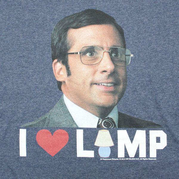 Charming I Love Lamp   Anchorman T Shirt