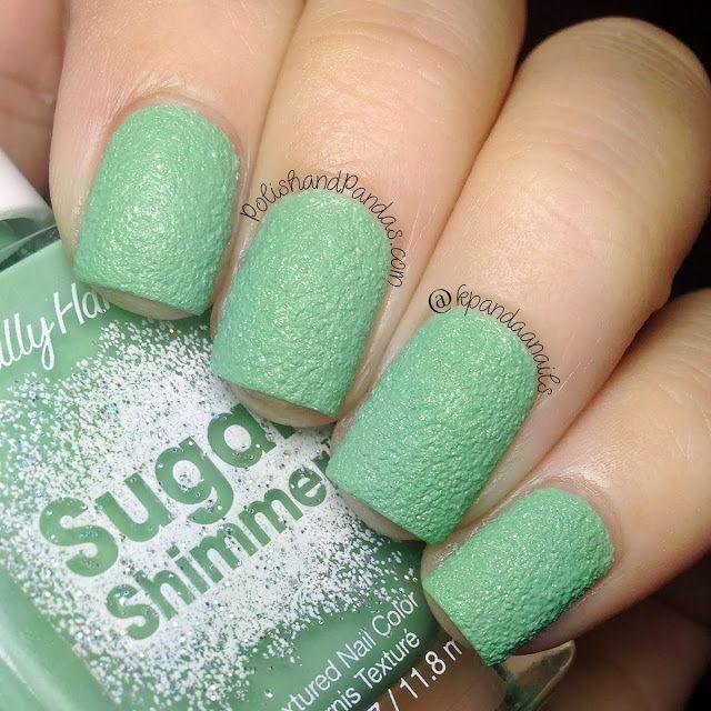 Sally Hansen Sugar Shimmer - Mint Tint | Nail Polish I Own ...