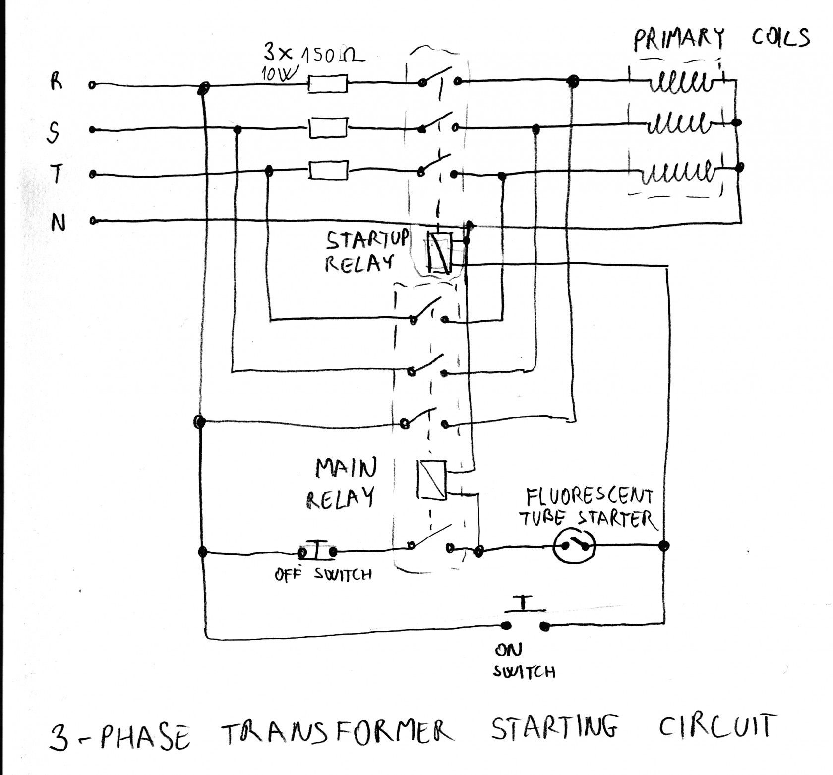 16 Automatic Common Wiring Diagrams Design Https Bacamajalah Com 16 Automatic Common Wi Transformer Wiring Single Phase Transformer Low Voltage Transformer