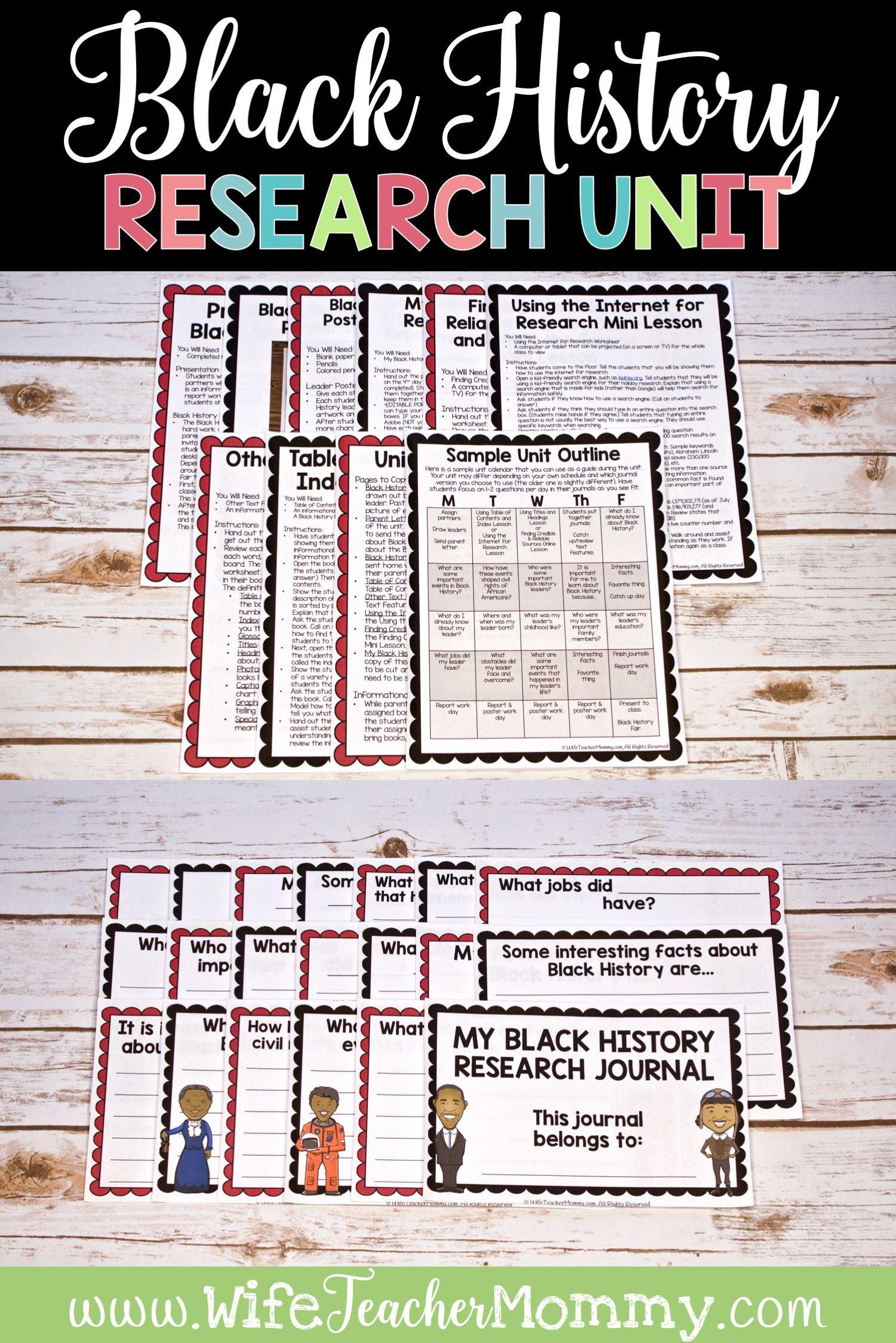 Black History Research Unit