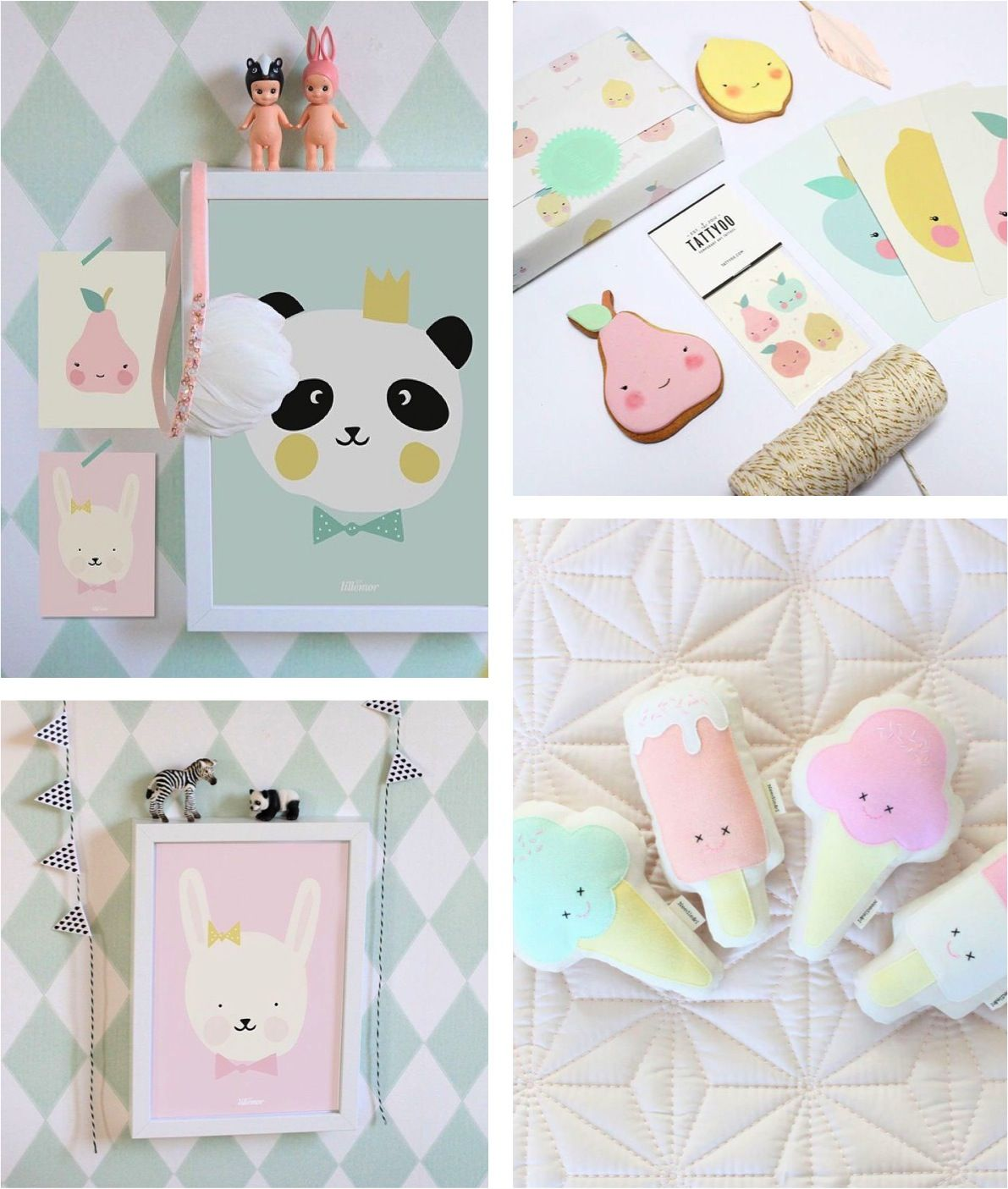 the cutest pastel decorations for any room baby pinterest