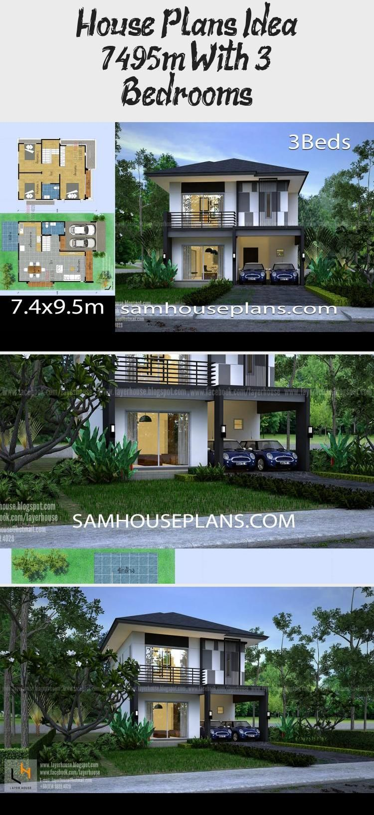 En Blog En Blog In 2020 House Plans Small House Plans Modern House Plans Open Floor