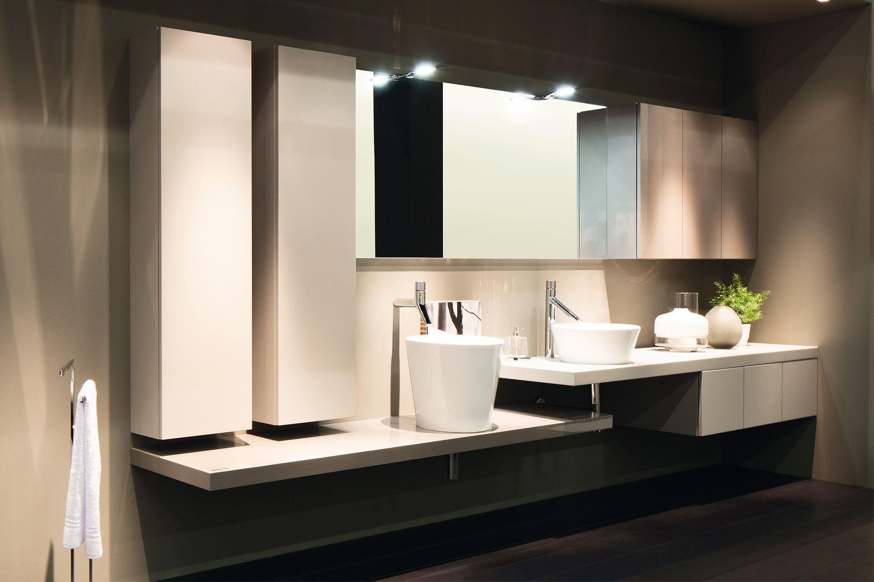 elementi de inda un ensemble de meubles de salle de bains minimaliste pour un effet design et. Black Bedroom Furniture Sets. Home Design Ideas