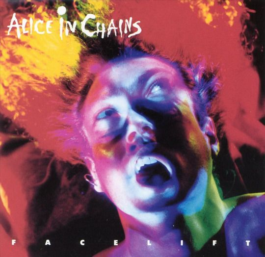 Facelift By Alice In Chains Alice In Chains Albums Alice In