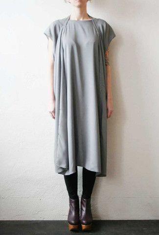 Strap Dress Dark Silver
