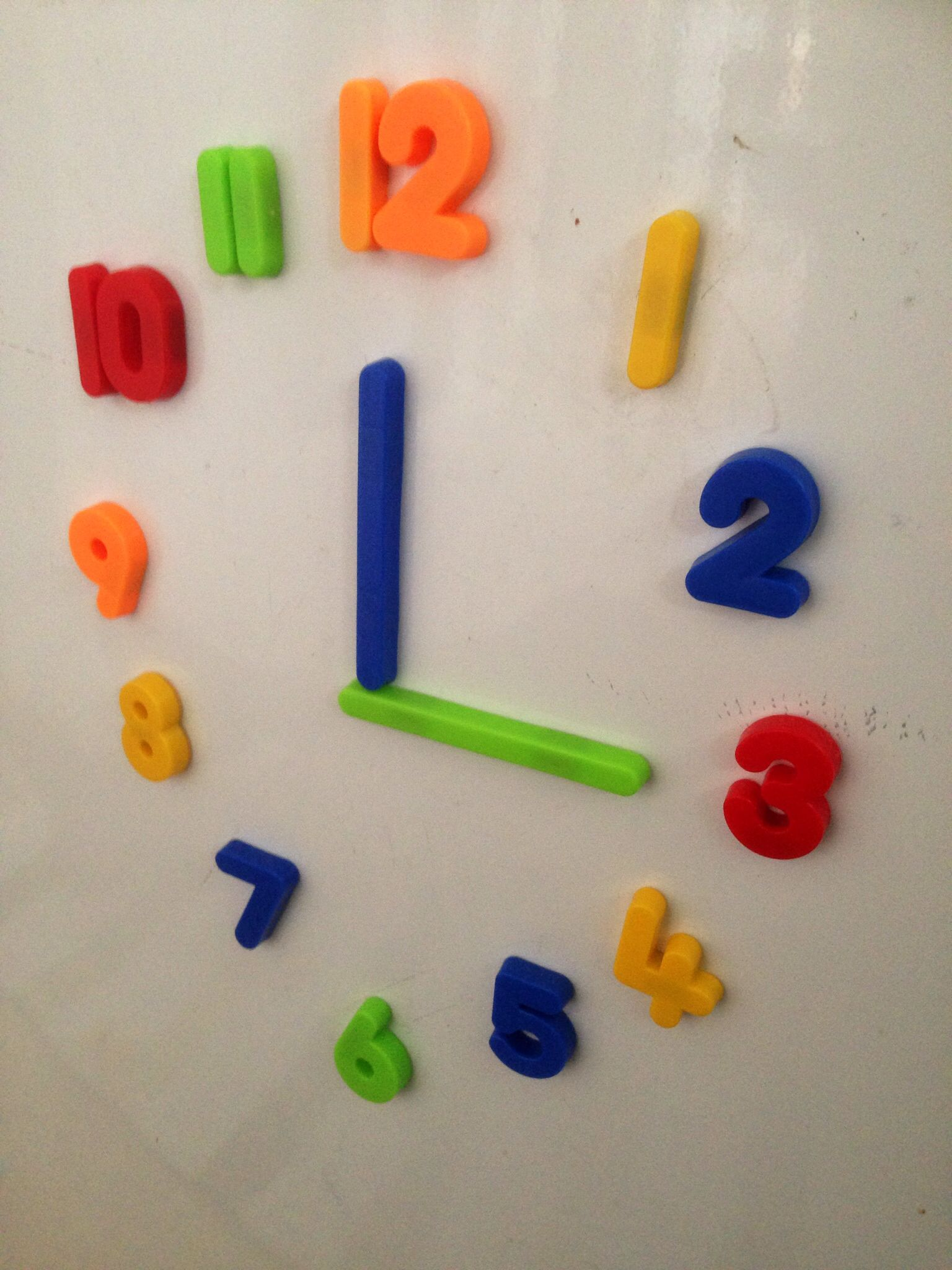 Kids Fridge Magnet Clock