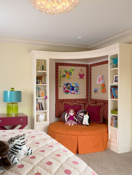 15 Cozy And Creative Reading Nooks For Kids Bedroom