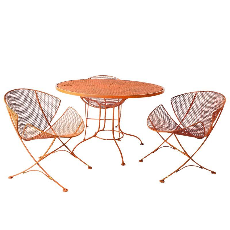 Mid Century Salterini Orange Slice