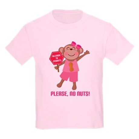 Please No Nuts Peanut T-Shirt