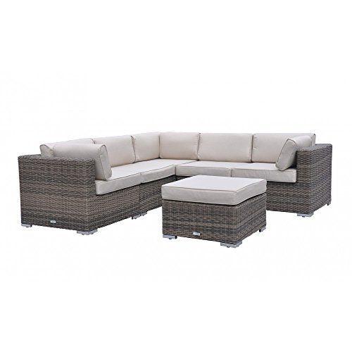 Outstanding 6Pc Modern Outdoor Backyard Wicker Rattan Patio Furniture Ibusinesslaw Wood Chair Design Ideas Ibusinesslaworg